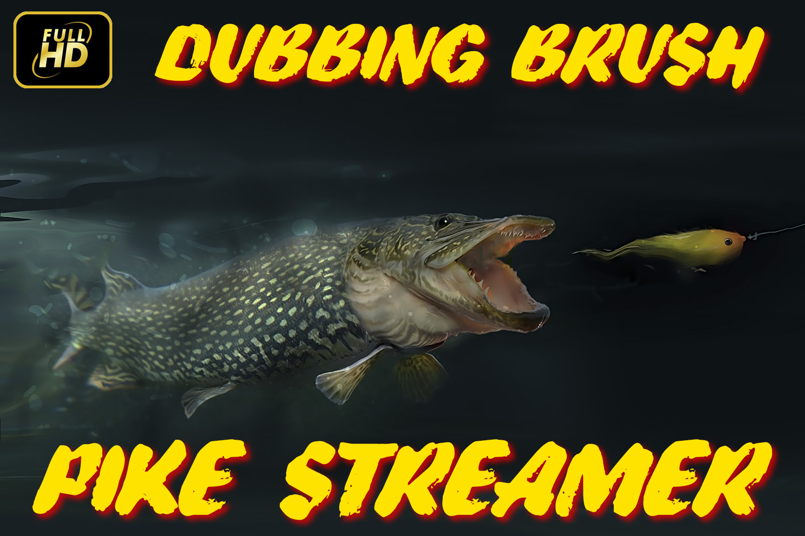 Dubbing Brush Pike Streamer