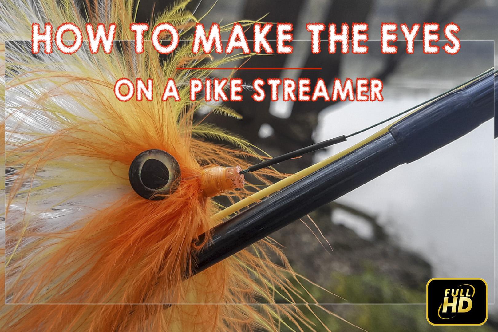 Как се поставят очите на щукарски стример