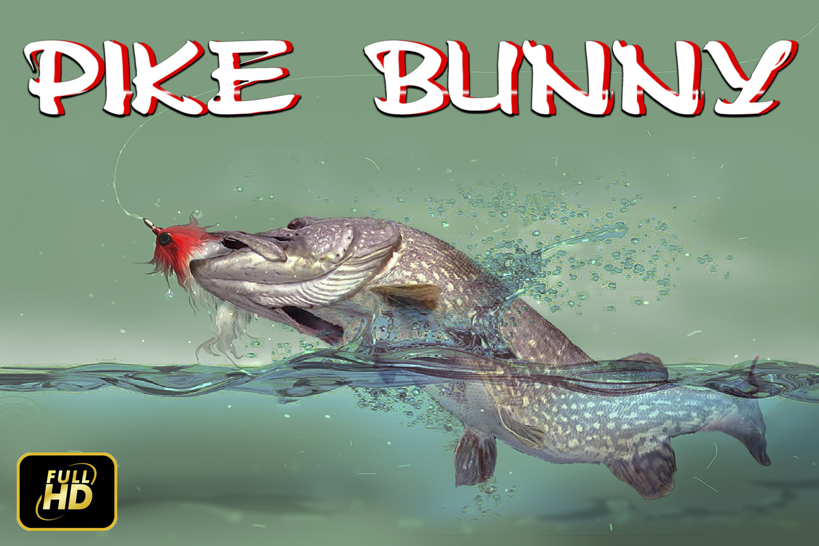 Pike Bunny Streamer