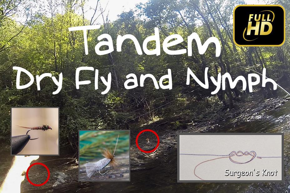 Тандем - суха муха и нимфа