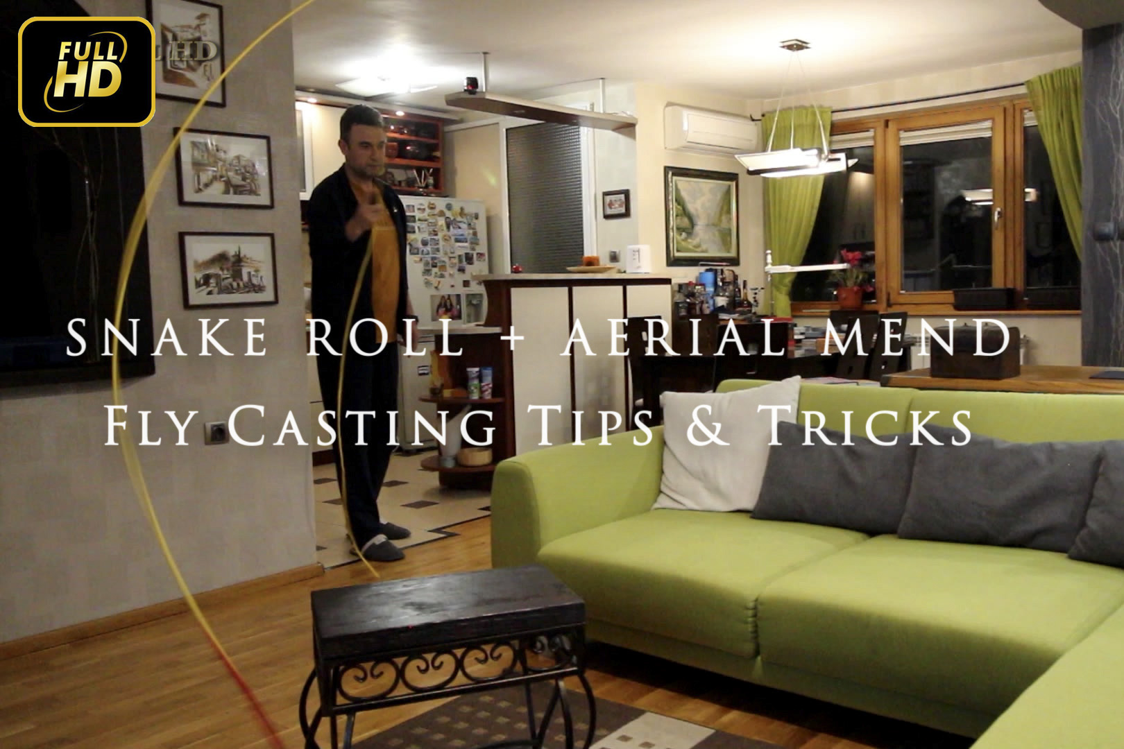 Snake Roll Cast + Aerial Mend