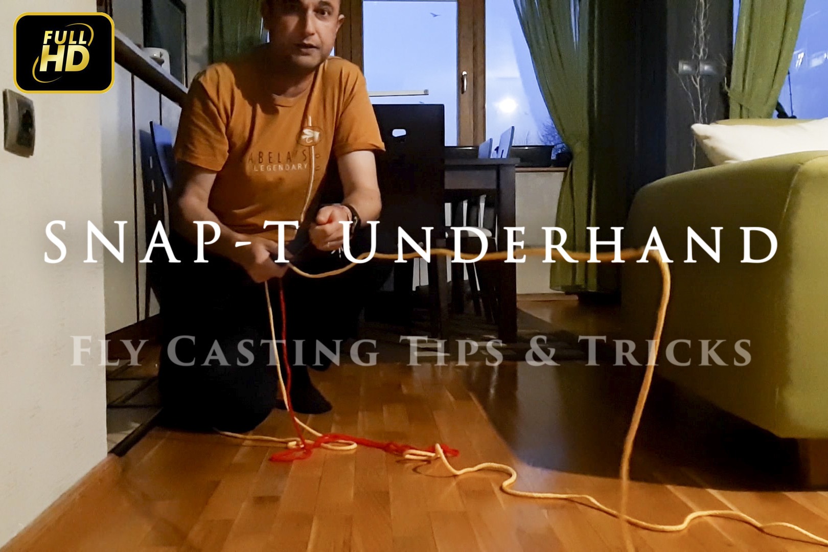 Snap-T Underhand Cast