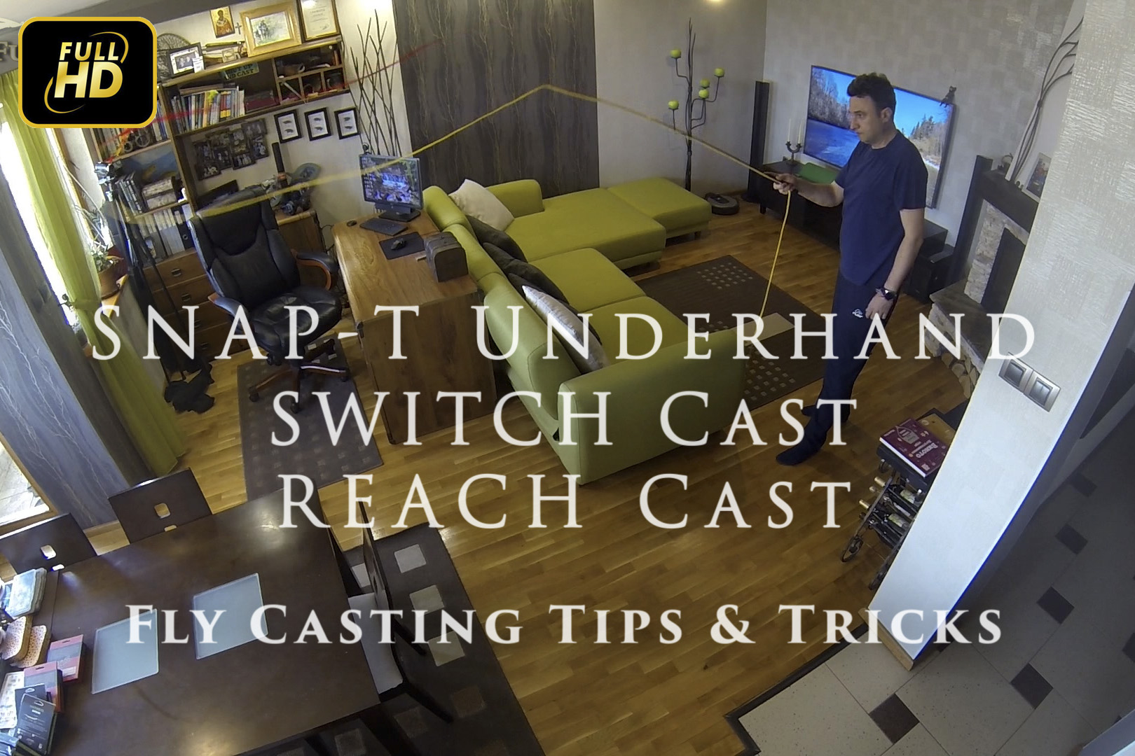 Snаp T Underhand + Switch Cast + Reach Ca