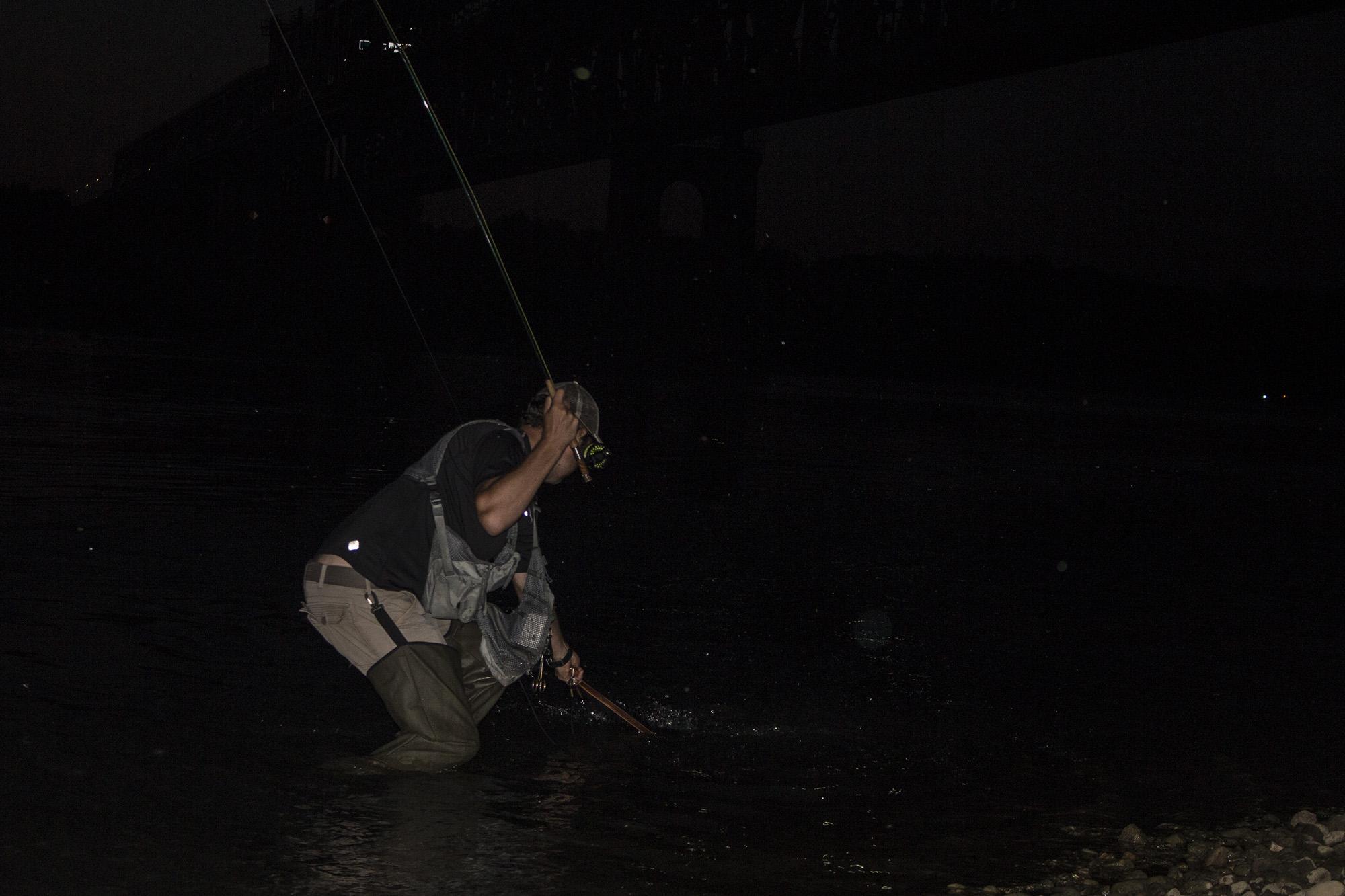 Разрешени водоеми за нощен риболов