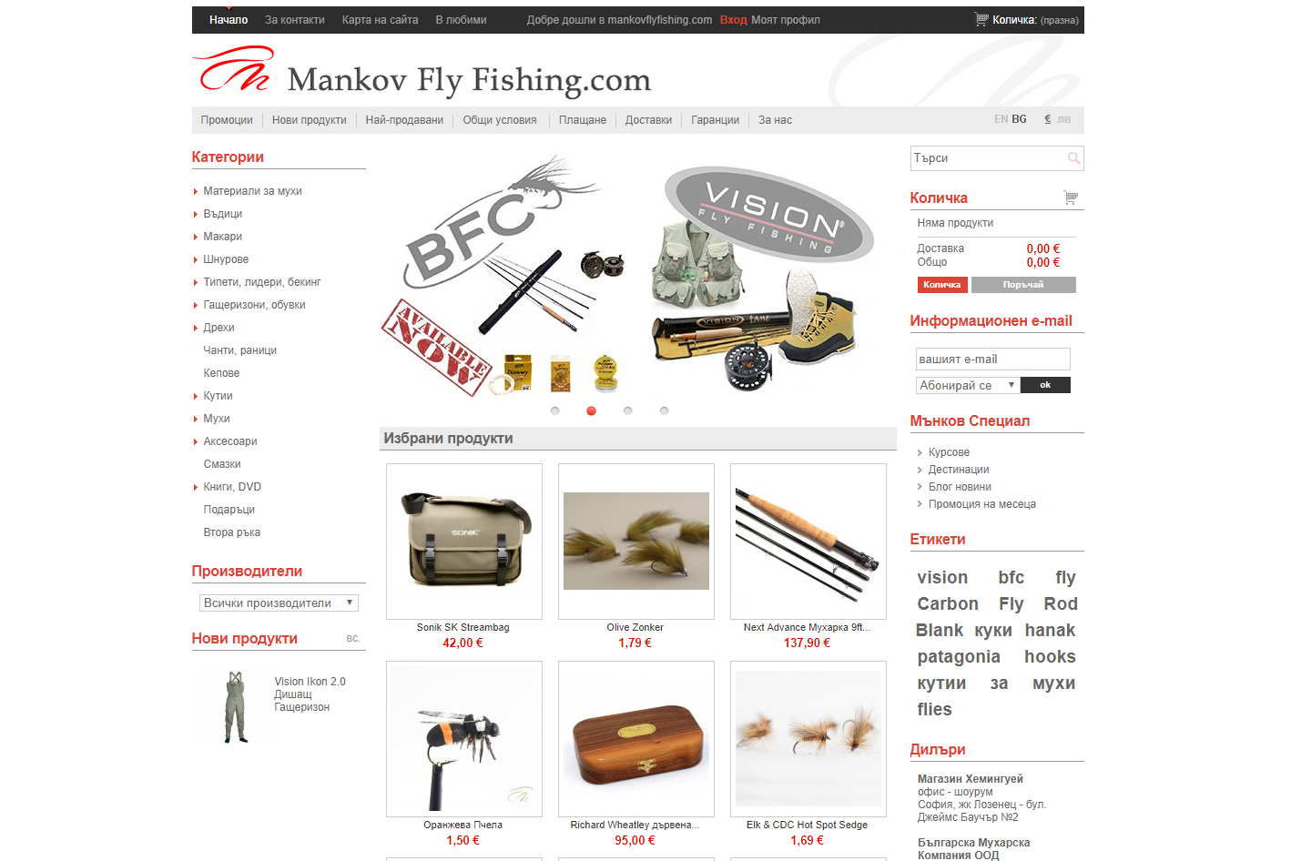 Mankov Fly Fishing